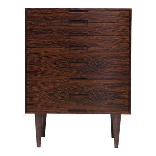 Brazilian Rosewood Nightstand Cabinets - a Pair For Sale