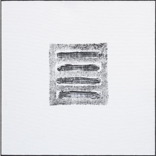 "Len Klikunas ""Black Strata Pattern: Nepal"" Original Painting For Sale"