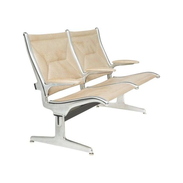 Herman Miller Eames for Herman Miller Tandem Sling Airport Bench For Sale - Image 4 of 4