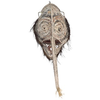 Sepik River Mask From Papua New Guinea For Sale
