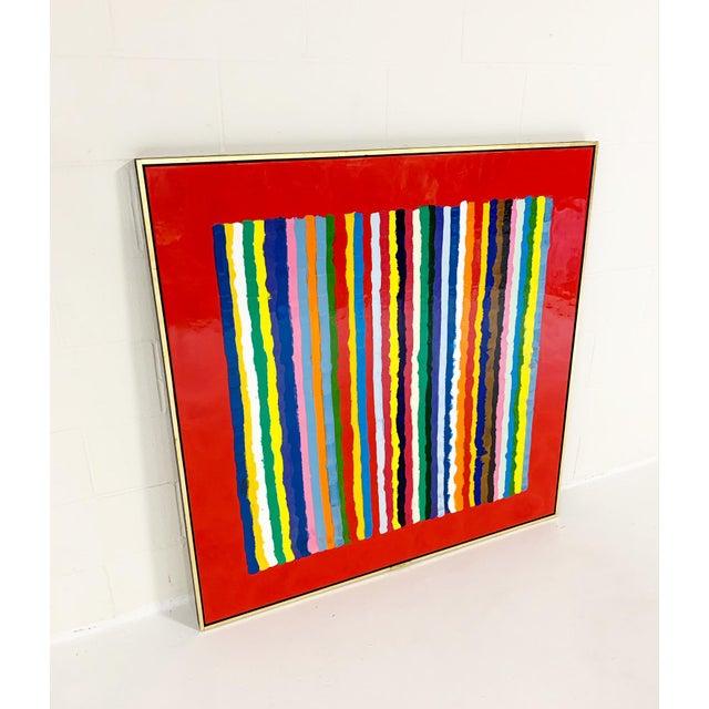 John O'Hara. 2018. Encaustic on Board. Handmade frame. Forsyth is proud to represent John O'Hara, a self-taught artist...