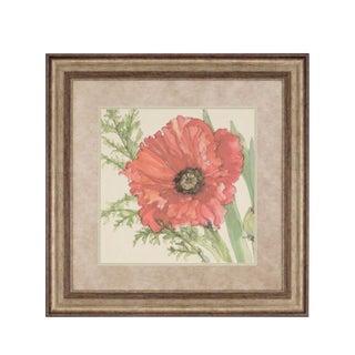 Poppy Fine Giclee Framed Print For Sale