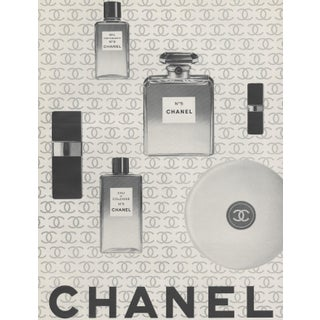 Matted 1966 Advertisement Print-Chanel Beauty Products For Sale