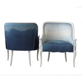 Pair of Upholstered French Occasional Chairs Preview