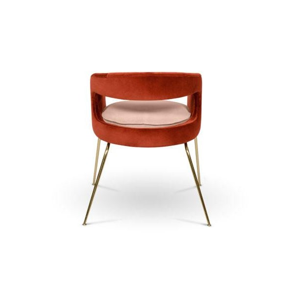 Not Yet Made - Made To Order Ellen Dining Chair From Covet Paris For Sale - Image 5 of 7