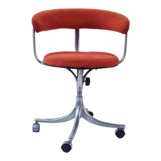 1960s Vintage Jorgen Rasmussen for Knoll International Kevi Office Chair For Sale
