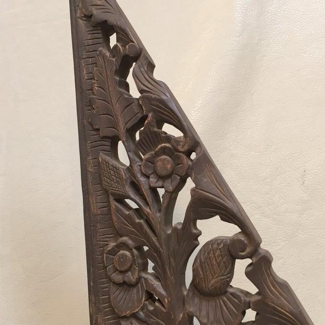 Asian Carving on Museum Stand For Sale - Image 4 of 7