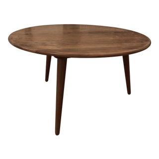 Mid-Century Modern Hans Wegner Teak Coffee Table For Sale