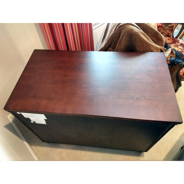 Elegant Two-Drawer Lateral File Cabinet Credenza - (Aspenhome: Young Classics Office Collection) For Sale - Image 4 of 13