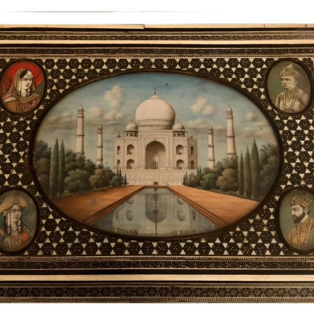 Indian Late 19th Century Middle Eastern Box For Sale - Image 3 of 13