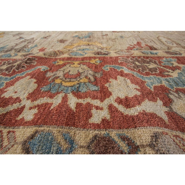 "Sultanabad Persian Rug - 8'1"" x 10'2"" For Sale - Image 4 of 9"