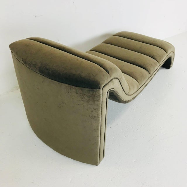 Early 21st Century Chaise Lounge, Custom For Sale - Image 5 of 6
