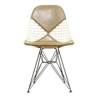 Vintage Eames for Herman Miller Green Eiffel Dkr-2 Bikini Chair For Sale