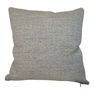 Custom Ralph Lauren Textured Neutral Pillow For Sale