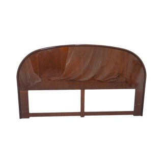 Thomasville Contemporary Mahogany Arch Top King Size Headboard