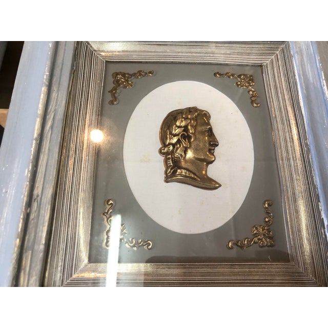 Neoclassic Gilt Profile Frames For Sale - Image 4 of 5