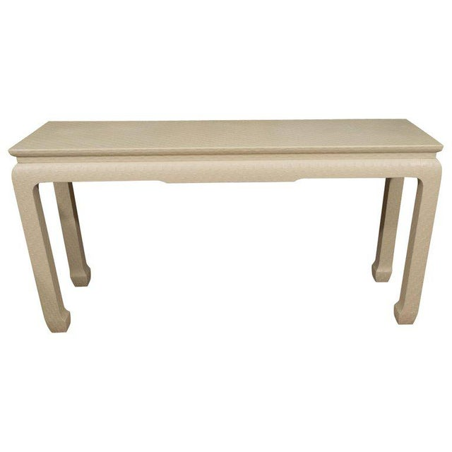 White Lacquered Console Table - Image 10 of 10