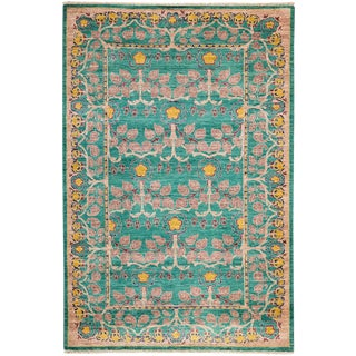 "Arts & Crafts, Hand Knotted Area Rug - 5' 0"" X 7' 8"" For Sale"