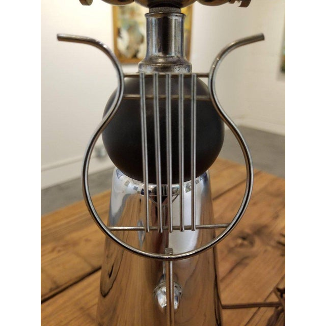 Art Deco Chrome Desk or Piano Lamp For Sale In San Francisco - Image 6 of 7