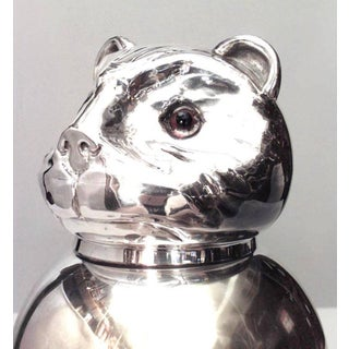 Italian 1940s Style Silver Plated Covered Jar Preview