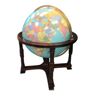 "Replogle 32"" Light Up Globe on Stand For Sale"