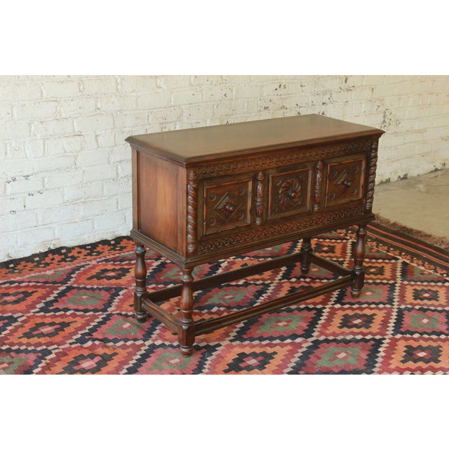 Limbert Furniture Co. Elizabethan-Style Sideboard - Image 4 of 9