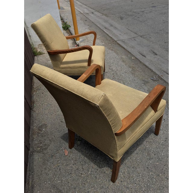 Art Deco Club Chairs - Pair - Image 5 of 10