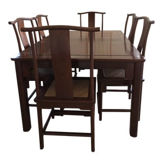 Rosewood Dining Set For Sale