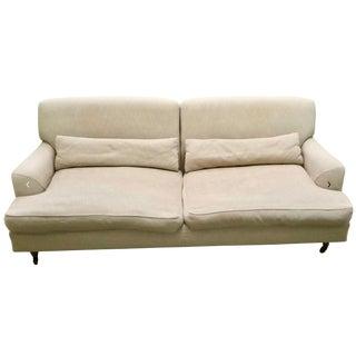 Modern Vico Magistretti De Padova Raffles Chesterfield Style Sofa For Sale