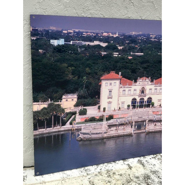 Monumental Photographic Print of Villa Vizcaya, Deaccessioned From Vizcaya For Sale In West Palm - Image 6 of 13