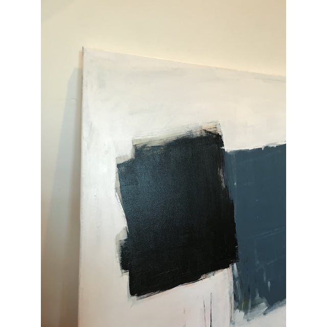 Abstract Topple Contemporary Abstract Painting For Sale - Image 3 of 5