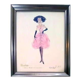 "Robert Best Limited Edition ""Blush"" Barbie Lithograph"
