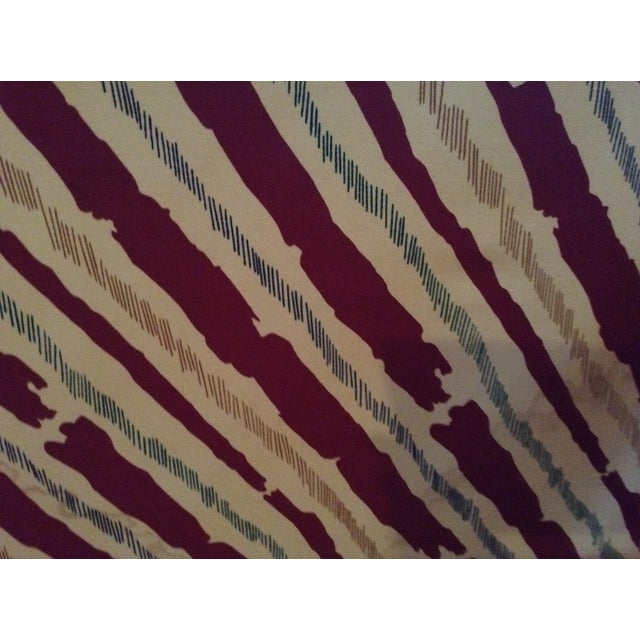 Schumacher Custom Stripe Sofa - Image 4 of 6