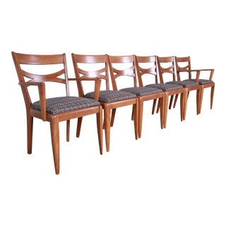 Heywood Wakefield Mid-Century Modern Dining Chairs - Set of 6 For Sale