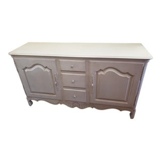 French Country Ethan Allen Maison Dining Room Serving Buffet For Sale