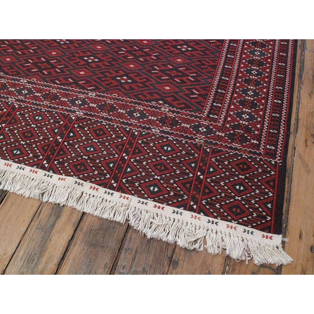 Islamic Turkmen Palas (Kilim) For Sale - Image 3 of 6