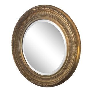 Carpenters Guild Oval Mirror For Sale