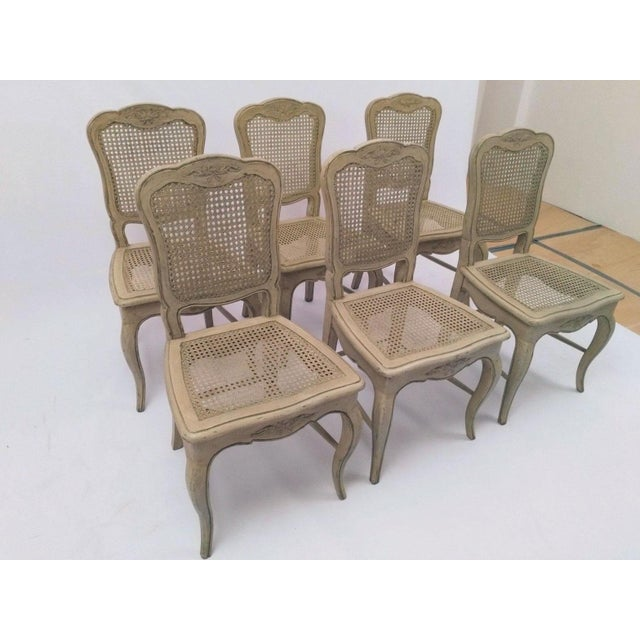 French Country Dining Chairs - Set of 6 For Sale - Image 4 of 5