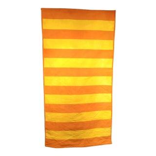"Vintage Turkish Modern Stripe Kilim Rug - 2' 8"" X 5' 1"" For Sale"