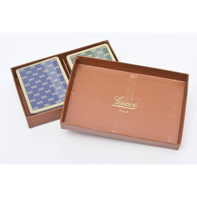 Set of Iconic Vintage Gucci Playing Cards - Image 3 of 10