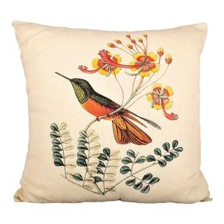 Hummingbird Pillow For Sale