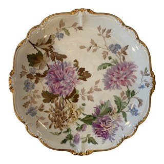 Rosenthal Germany Pompadour Chrysanthemum Platter Charger Plate For Sale