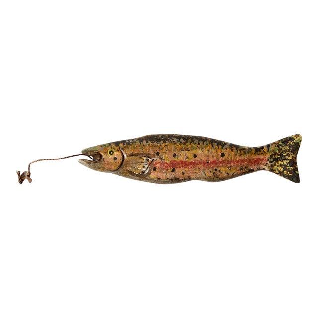 1930s Vintage Fishing Decoy For Sale