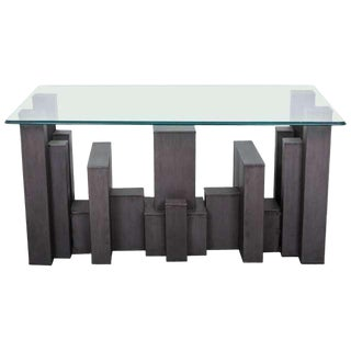 Andrew Martin, Columbus Console Table For Sale
