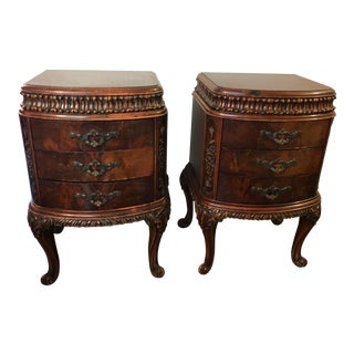 Williamsport Furniture Company Nightstands - A Pair For Sale