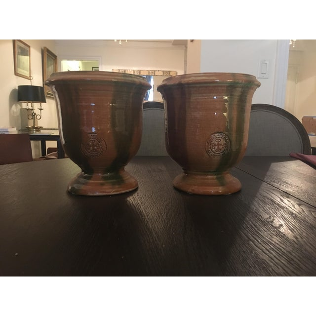 French Provence Pots - A Pair - Image 2 of 7