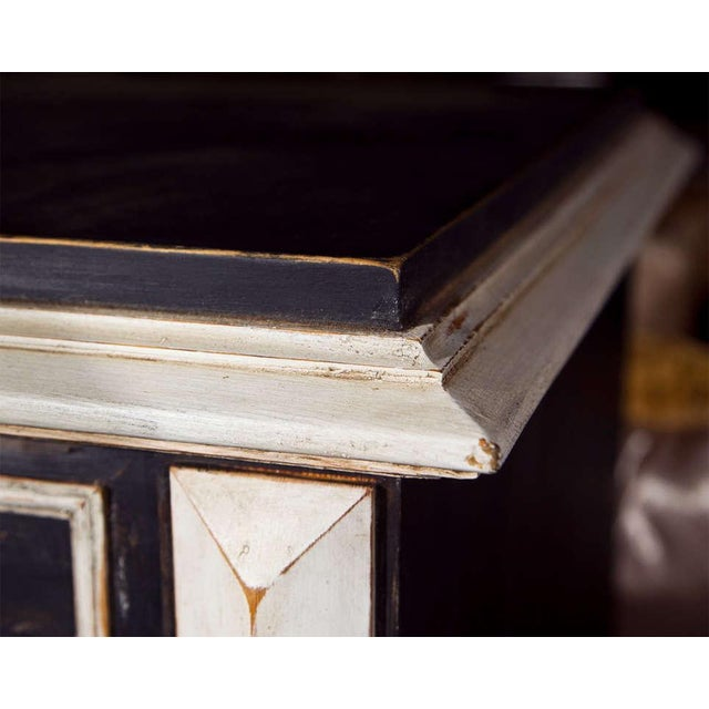 Gold Swedish Gustavian Style Secretary Drop-Front Desk For Sale - Image 8 of 10