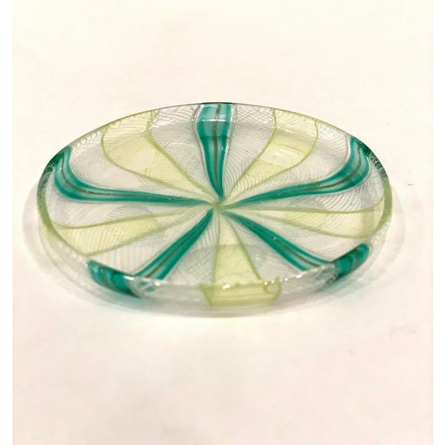 Vintage Murano Art Glass Dish For Sale In Little Rock - Image 6 of 6