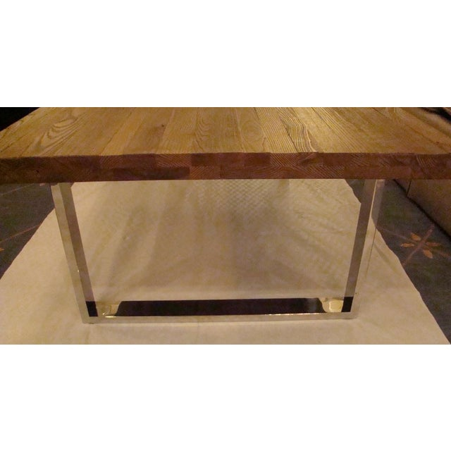 Reclaimed Wood Coffee Table Ireland: Reclaimed Wood Top Coffee Table