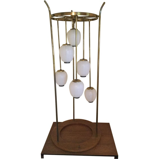 Mid-Century Modern Six Light Lamp - Image 1 of 9
